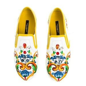 Authentic Dolce & Gabbana Slip-on Sneakers
